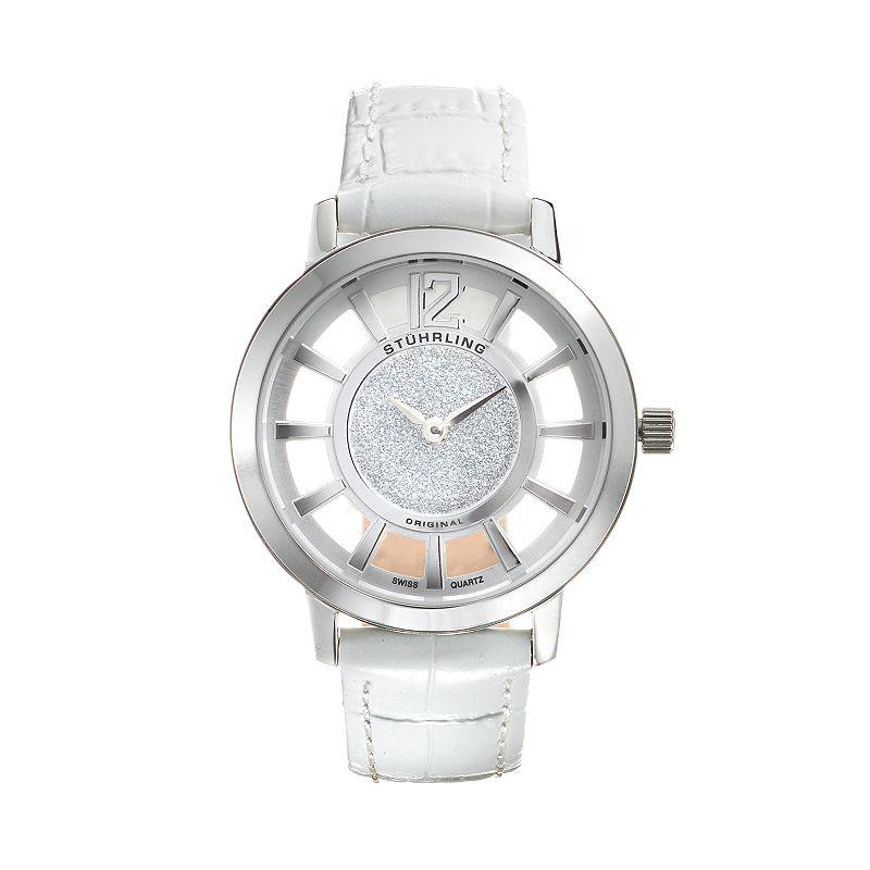 Stuhrling Original Women's Lady Edinburgh Watch (White)
