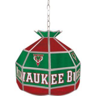 "Milwaukee Bucks 16"" Tiffany-Style Lamp"