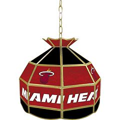 Miami Heat 16' Tiffany-Style Lamp