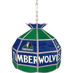 Minnesota Timberwolves 16' Tiffany-Style Lamp