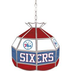 Philadelphia 76ers 16' Tiffany-Style Lamp
