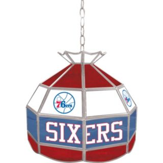 "Philadelphia 76ers 16"" Tiffany-Style Lamp"