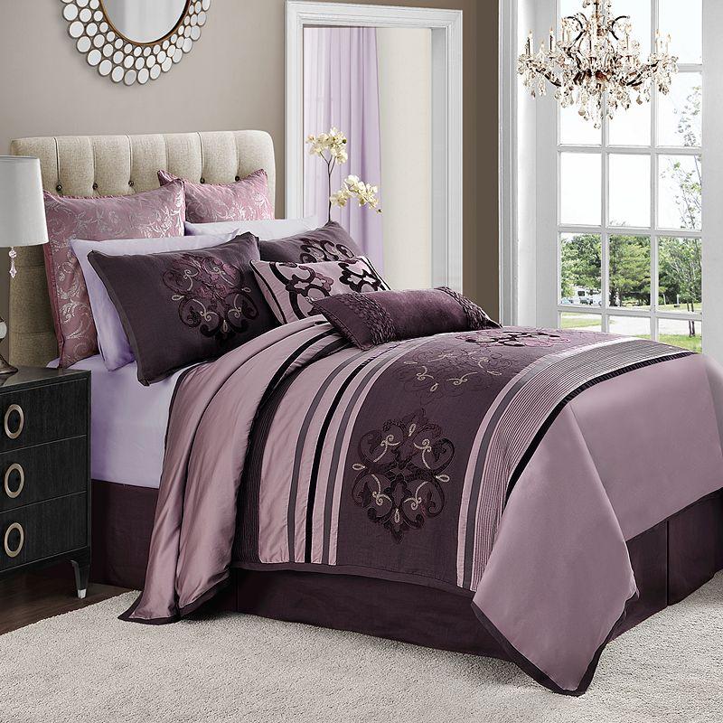 purple cal king comforter kohl 39 s