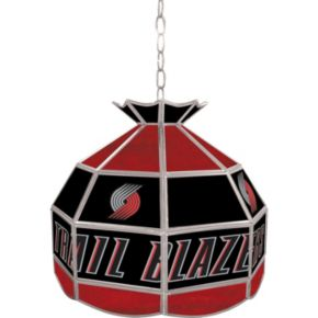 "Portland Trail Blazers 16"" Tiffany-Style Lamp"