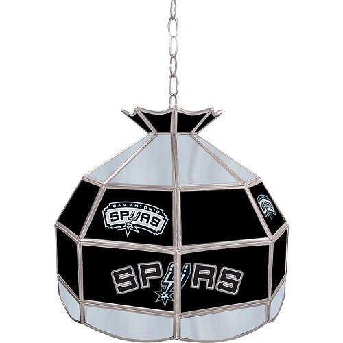 "San Antonio Spurs 16"" Tiffany-Style Lamp"