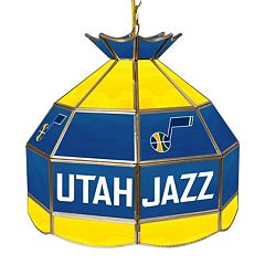 Utah Jazz 16' Tiffany-Style Lamp
