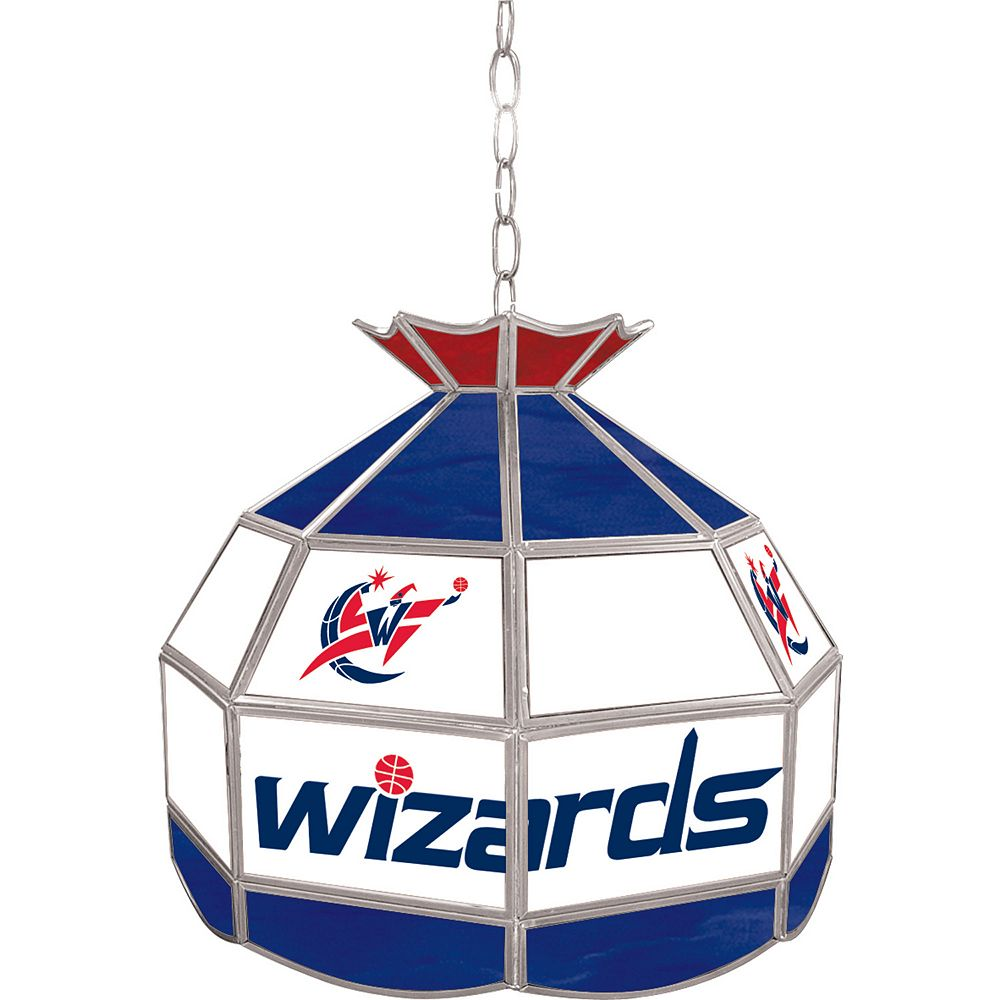 "Washington Wizards 16"" Tiffany-Style Lamp"