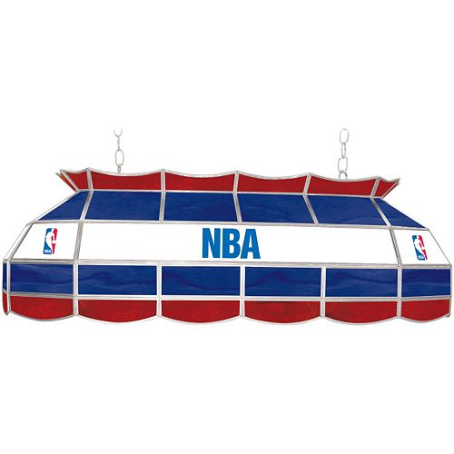 "NBA 40"" Tiffany-Style Lamp"
