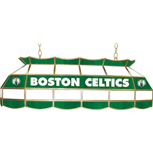 "Boston Celtics 40"" Tiffany-Style Lamp"