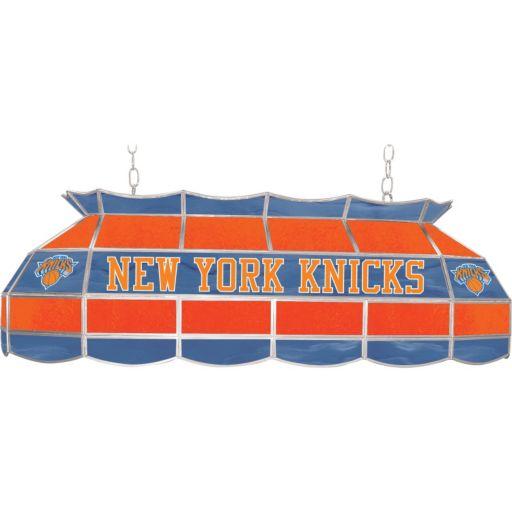 """New York Knicks 40"""" Tiffany-Style Lamp"""