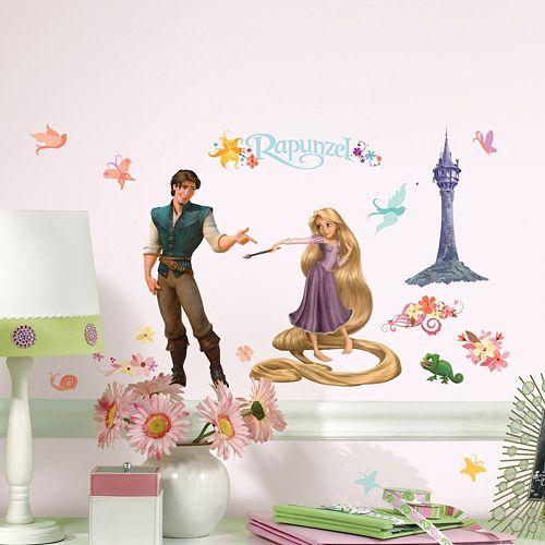 Disney Tangled Rapunzel Collage Peel & Stick Wall Stickers