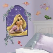 Disney Tangled Rapunzel Peel & Stick Wall Stickers