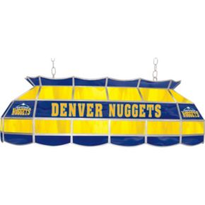 """Denver Nuggets 40"""" Tiffany-Style Lamp"""