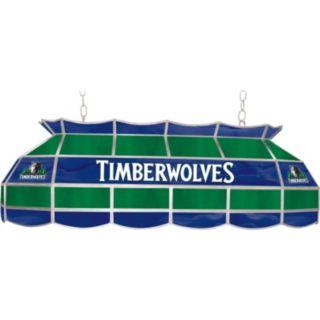 """Minnesota Timberwolves 40"""" Tiffany-Style Lamp"""