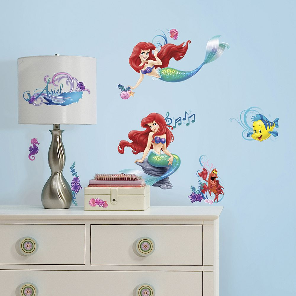Disney The Little Mermaid Peel & Stick Wall Stickers