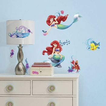 Disney The Little Mermaid Peel Amp Stick Wall Stickers