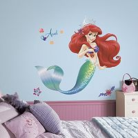 Disney The Little Mermaid Ariel Peel & Stick Wall Stickers