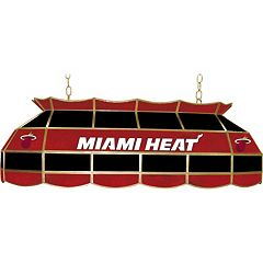 Miami Heat 40' Tiffany-Style Lamp