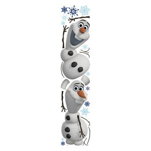 Disney Frozen Olaf Peel & Stick Wall Stickers