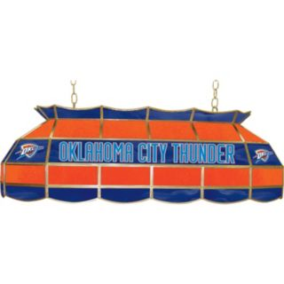 "Oklahoma City Thunder 40"" Tiffany-Style Lamp"