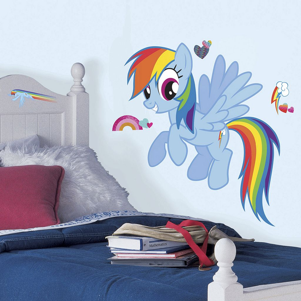 My Little Pony Rainbow Dash Peel & Stick Wall Stickers