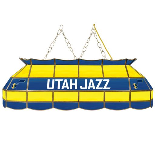 "Utah Jazz 40"" Tiffany-Style Lamp"