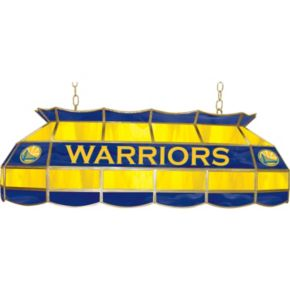 """Golden State Warriors 40"""" Tiffany-Style Lamp"""