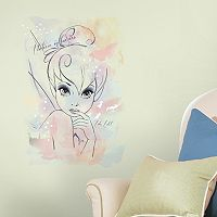 Disney Tink Watercolor Peel & Stick Wall Sticker