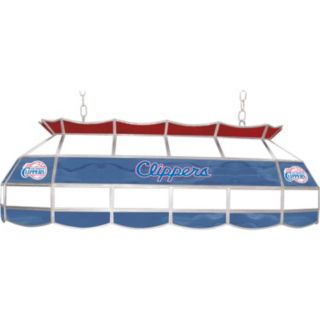 """Los Angeles Clippers 40"""" Tiffany-Style Lamp"""