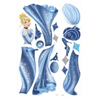 Disney Princess Cinderella Glamour Giant Peel and Stick Wall Stickers
