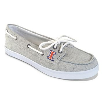 Women's Campus Cruzerz Illinois Fighting Illini Kauai Boat Shoes