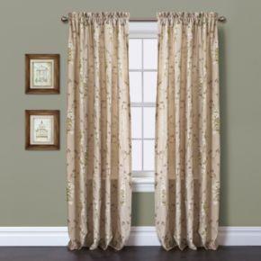 "Lush Decor 1-Panel Roslyn Window Panel - 54"" x 84"""