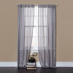 "Lush Decor 2-pack Rhythm Window Curtains - 40"" x 84"""
