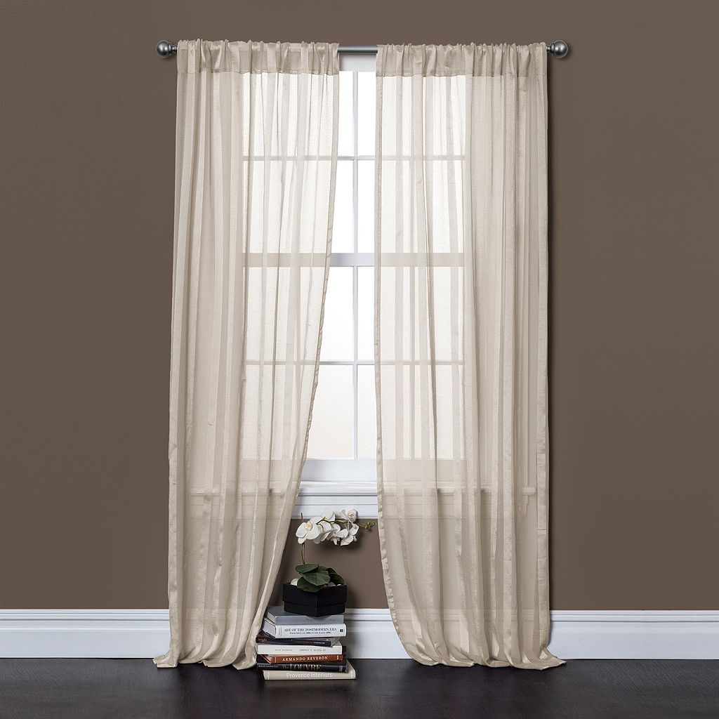 Lush Decor Rhythm Window Curtain Set - 40