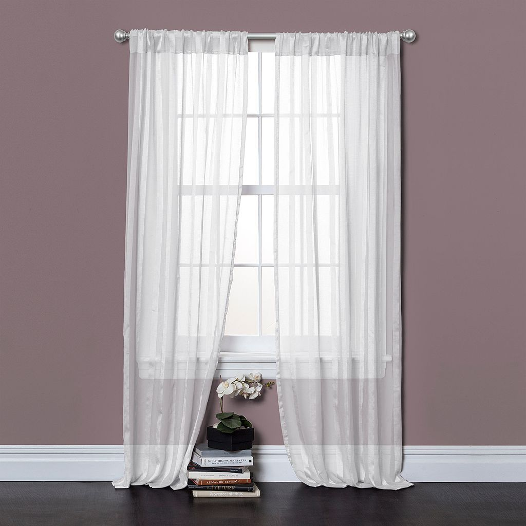 Lush Decor 2-pack Rhythm Window Curtains - 40