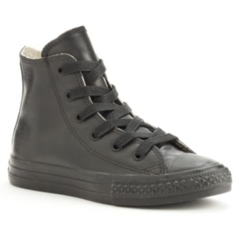 Kid's Converse Al Star Rubber High-Top Sneakers