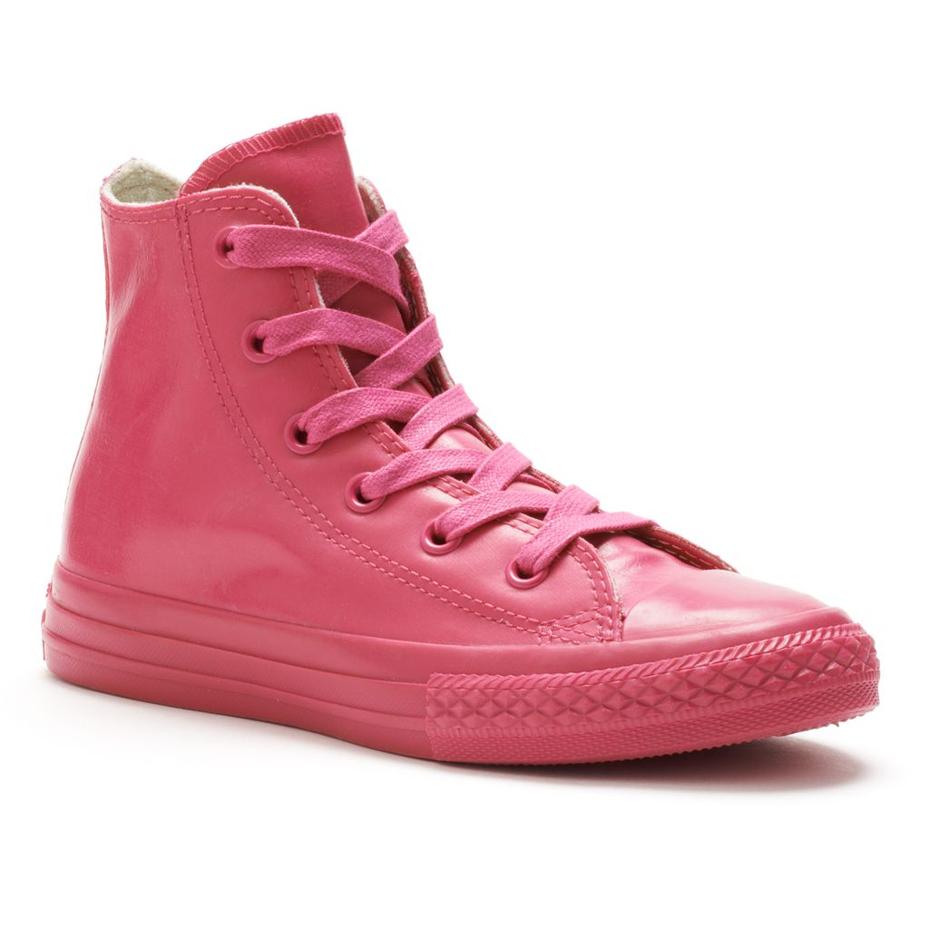 Kid's Converse All Star Rubber High-Top Sneakers