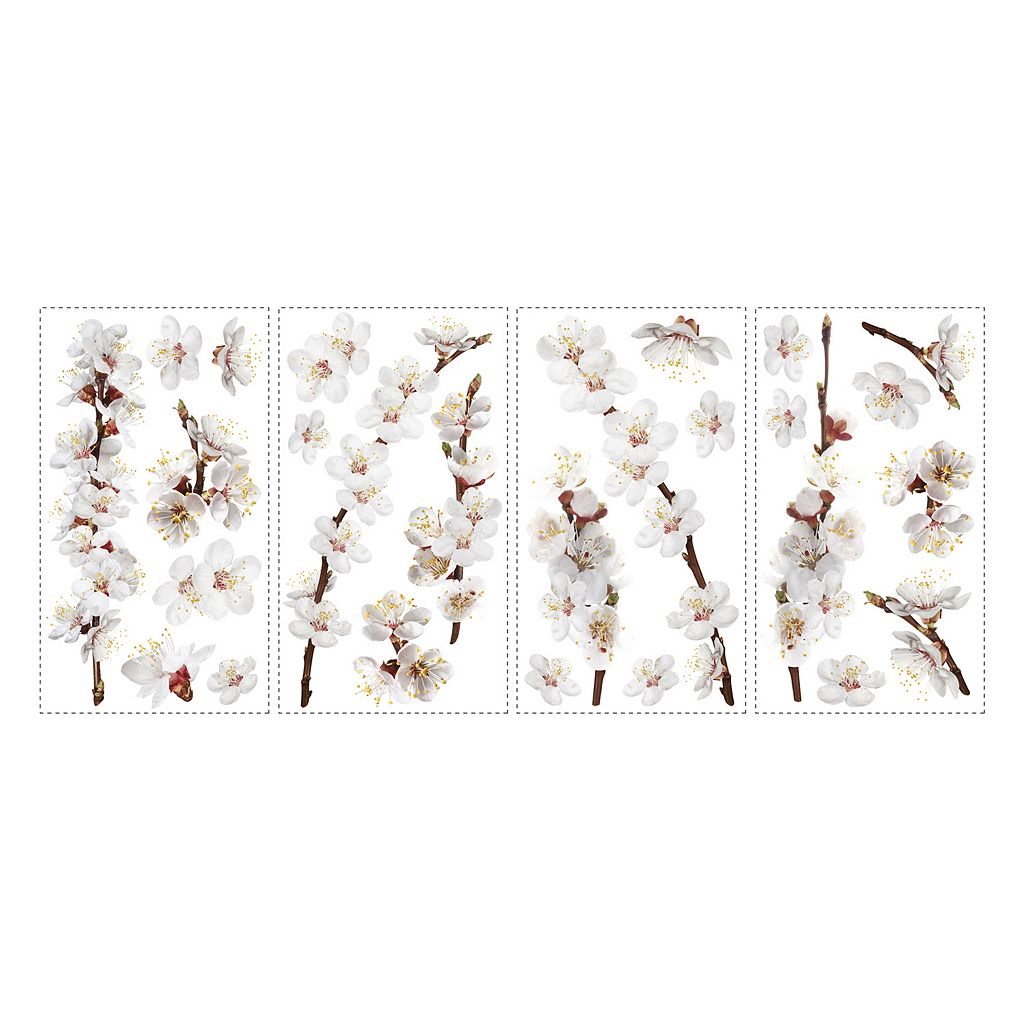 Dogwood Branch Peel and Stick Wall Stickers