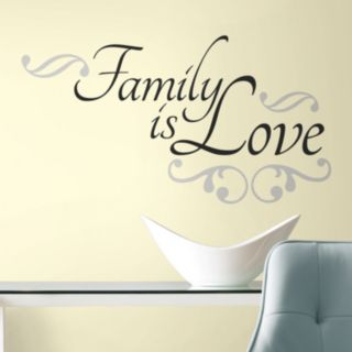 Family is Love Peel & Stick Wall Stickers