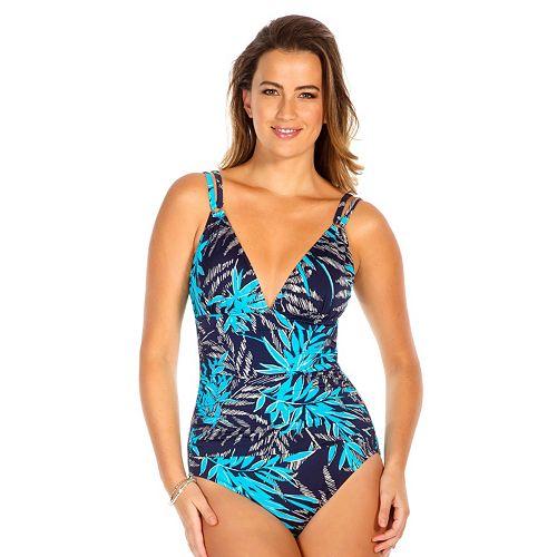 968f3d861bb Upstream Leaf Long Torso One-Piece Swimsuit - Women's