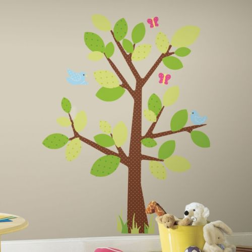 Kids Tree Peel and Stick Wall Stickers