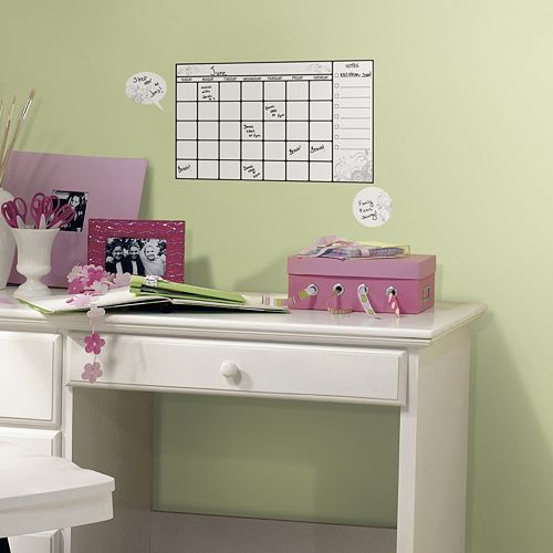 Dry Erase Calendar Peel and Stick Wall Stickers