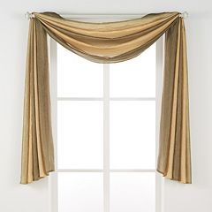 Achim 1-Panel Ombre Window Scarf - 144'' x 50''