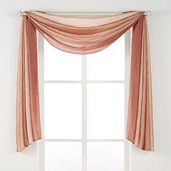 Achim Ombre Window Scarf - 144'' x 50''