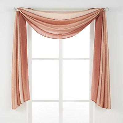 Achim 1-Panel Ombre Window Scarf - 144'' x 50''