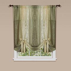 Ombre Tie-Up Window Shade - 50'' x 63''