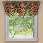 Ombre Waterfall Window Valance - 42'' x 46''