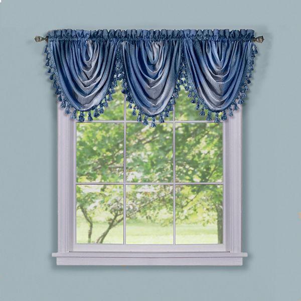 Ombre Waterfall Window Valance 42 X 46