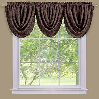 Sutton Damask Blackout Waterfall Window Valance - 36'' x 48''