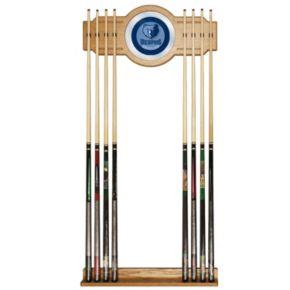 Memphis Grizzlies Billiard Cue Rack with Mirror